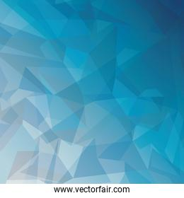 geometric blue tones background patterns icon