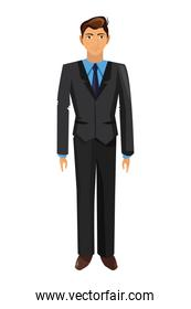 young businessman icon