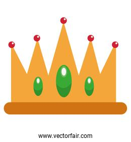 jeweled crown icon