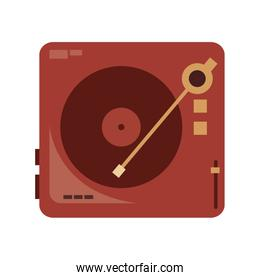 vinyl record player icon