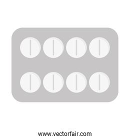 medicine tablet pack icon