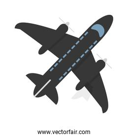 flying airplane icon