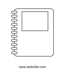 wired notebook icon