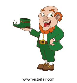 leprechaun character with boots icon