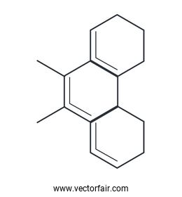 molecule representation icon