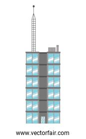 single tall building icon