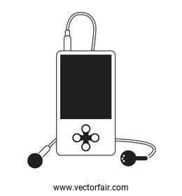 mobile music player icon