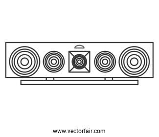 stereo system icon