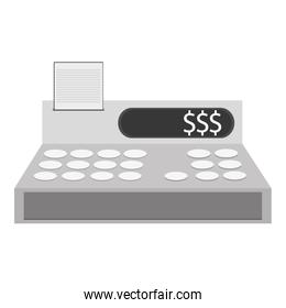 cash register cashier flat icon