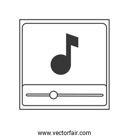 music note in player icon