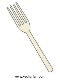 single fork icon