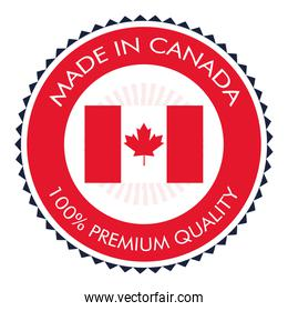 made in canada badge icon