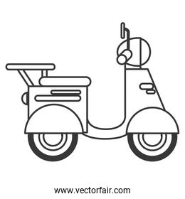 single scooter icon