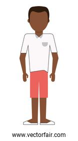 single man with shorts icon