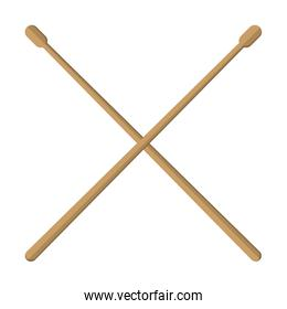 pair of drumsticks icon