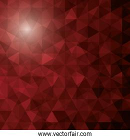 abstract polygon pattern icon