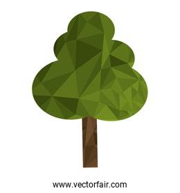 polygon texture tree icon