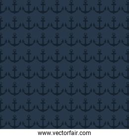 classic anchor pattern icon
