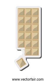 candy white chocolate bar icon