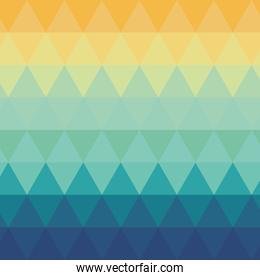 triangle ombre pattern background
