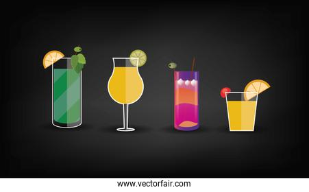 cocktail drink glass  image