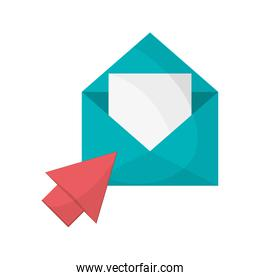 message envelope and envelope  icon