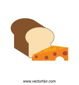 bread and cheese icon