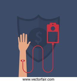 health insurance related icons image