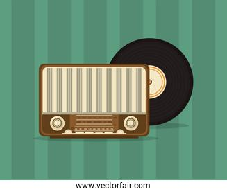 retro radio image