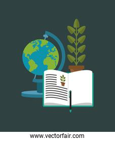 education related icons image
