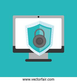 virtual security system icons image