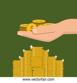 economy and money related icons image