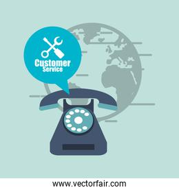 customer service related icons image