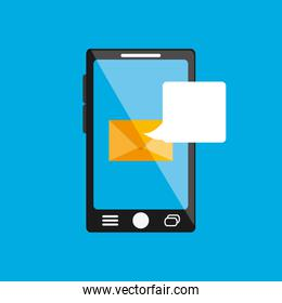 digital messaging related icons image