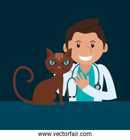 veterinarian related icons image