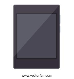 Tablet technology isolated
