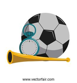 Soccer sport game cartoons