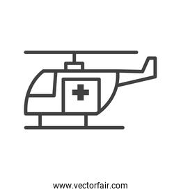 Helicopter aircraft symbol