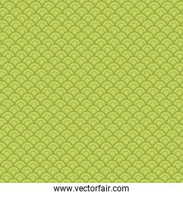 Asian green background