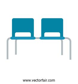 Hospital bench chairs