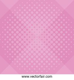 Pop art pink background