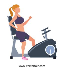 fitness woman training
