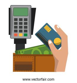 Credit card electronic payment