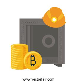 Bitcoin mining security with strongbox
