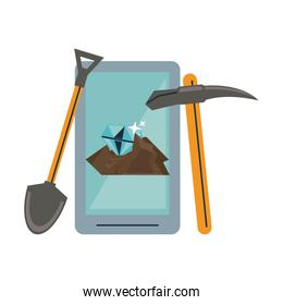 Mining from smartphone and tools