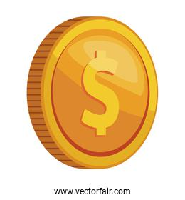 coins finance icon