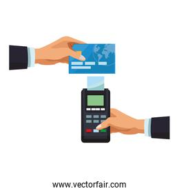 credit card payment with card reader