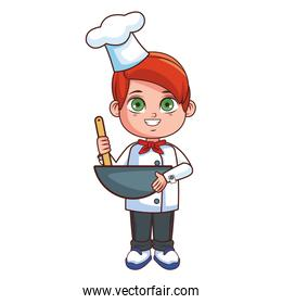 Chef boy cartoon