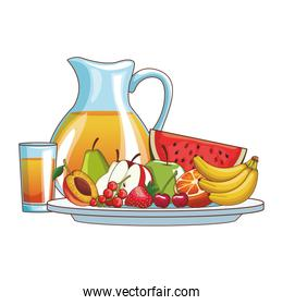 delicious and fresh fruit