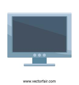 computer isolated icon